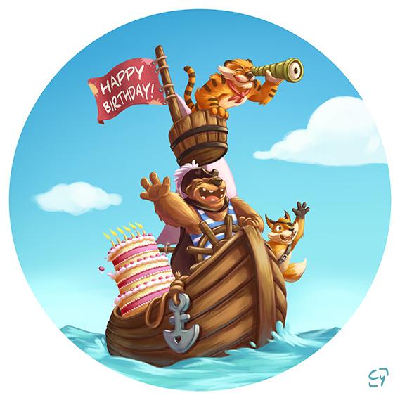 Anniversaire(s) du jour le post Happy-birthday-les-corsaires