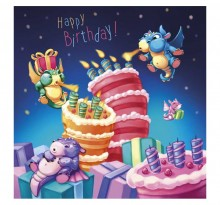 Petits dragons Happy Birthday !