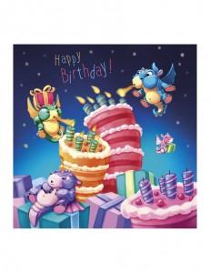 Petits dragons Happy Birthday !