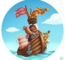 happy birthday les corsaires